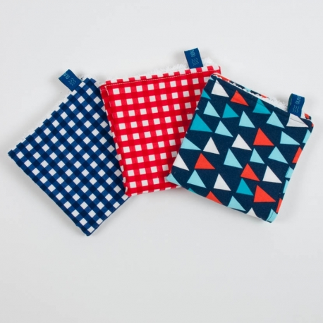 PACK 3 MINI TOWELS SAILOR