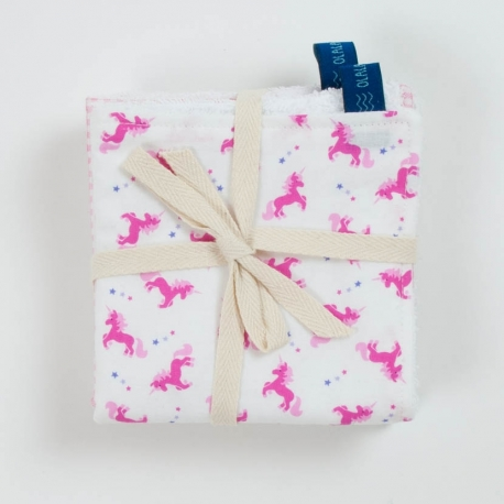 PACK 3 MINI TOWELS UNICORNIO