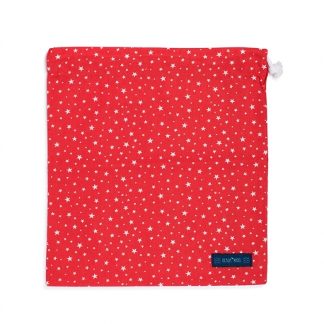MULTIPURPOSE BAG STARS RED