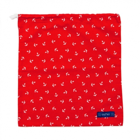 BAG MULTIPURPOSE  ANCHORS RED
